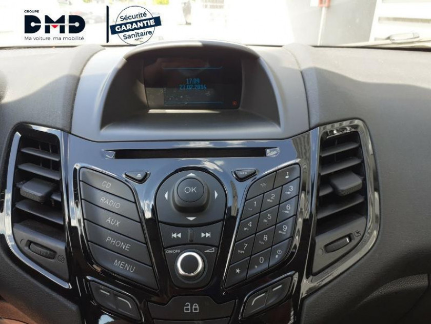 Ford Fiesta 1.5 Tdci 75ch Fap Titanium 5p - Visuel #6