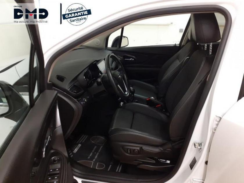 Opel Mokka X 1.4 Turbo 140ch Bicarburation Black Edition 4x2 - Visuel #9