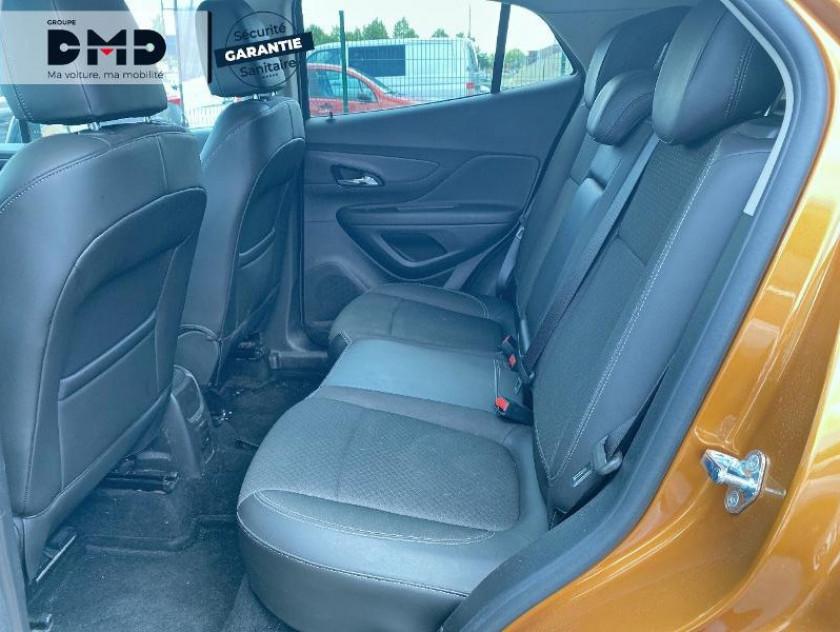 Opel Mokka X 1.4 Turbo 140 Black Edition 4x2 Euro6d-t - Visuel #10