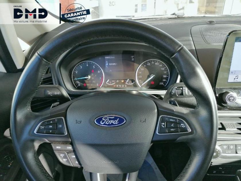 Ford Ecosport 1.0 Ecoboost 125ch Titanium Bva6 Euro6.2 - Visuel #7