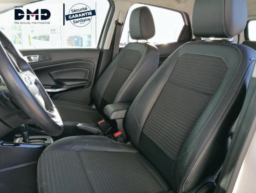 Ford Ecosport 1.0 Ecoboost 125ch Titanium Bva6 Euro6.2 - Visuel #9