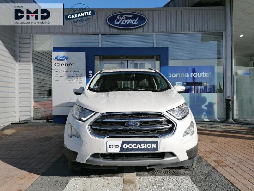 Ford Ecosport 1.0 Ecoboost 125ch Titanium Bva6 Euro6.2 - Visuel #4