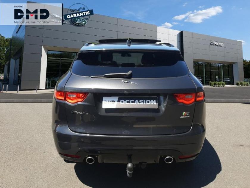 Jaguar F-pace V6 3.0d 300ch S 4x4 Bva8 - Visuel #11