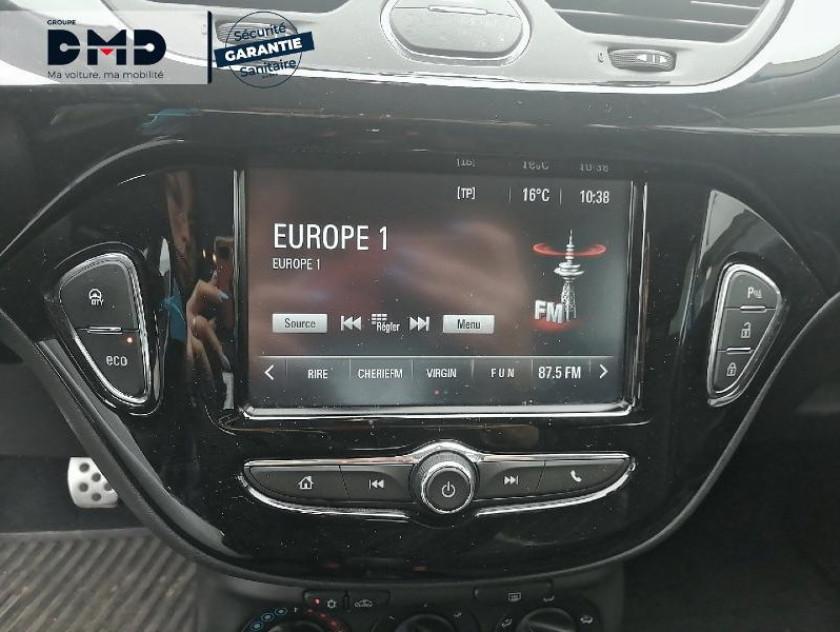 Opel Corsa 1.4 Turbo 100ch Black Edition Start/stop 5p - Visuel #9