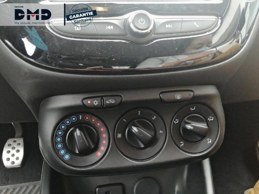 Opel Corsa 1.4 Turbo 100ch Black Edition Start/stop 5p - Visuel #13