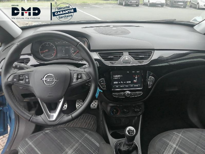 Opel Corsa 1.4 Turbo 100ch Black Edition Start/stop 5p - Visuel #7