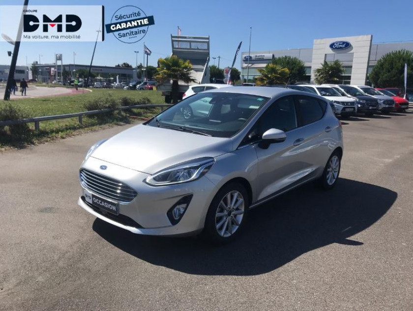 Ford Fiesta 1.0 Ecoboost 100 Ch Bvm6 First Play Edition  - Visuel #1