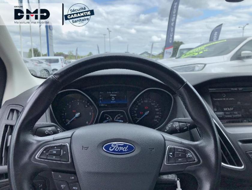Ford Focus Sw 1.5 Tdci 105ch Econetic Stop&start Business Nav - Visuel #7
