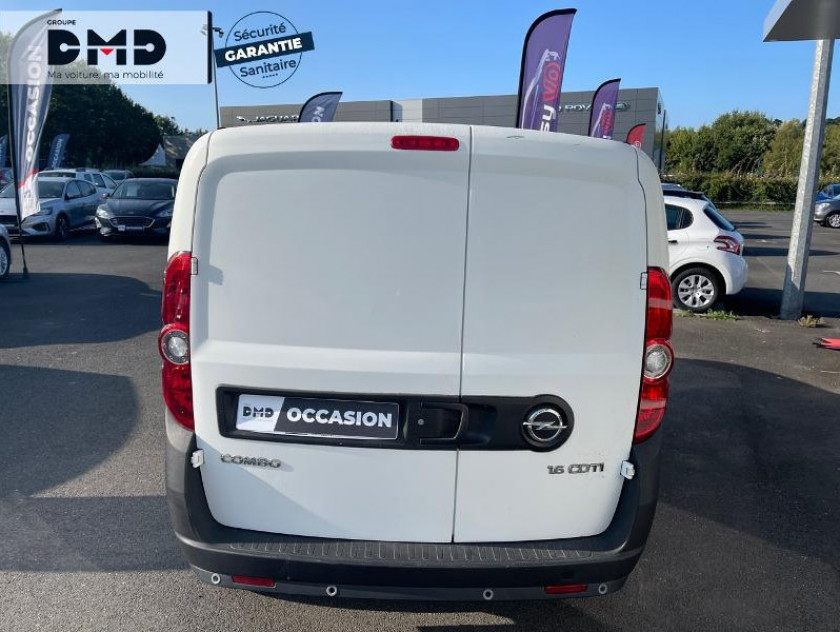 Opel Combo Cargo L1h1 1.6 Cdti 105ch Pack Clim + E5 - Visuel #11