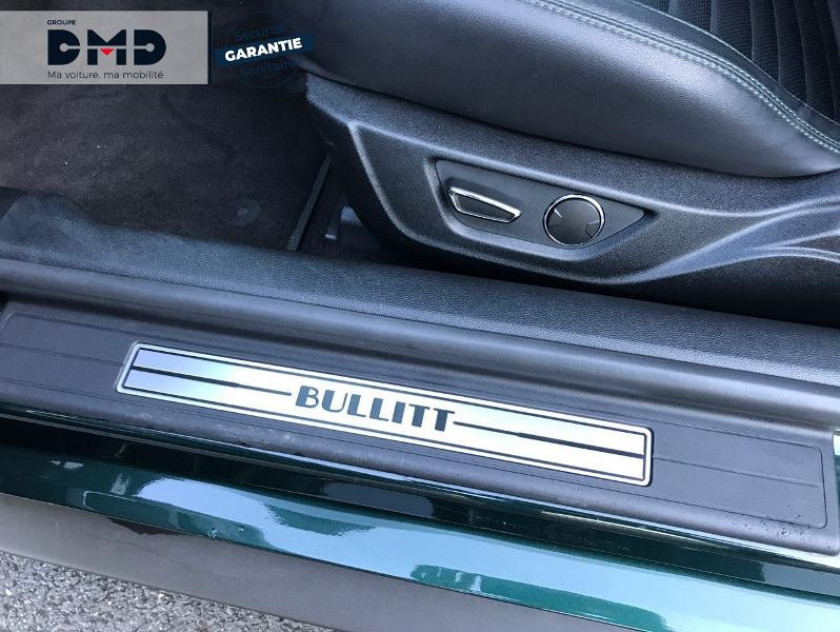 Ford Mustang Fastback 5.0 V8 460ch Bullitt - Visuel #14