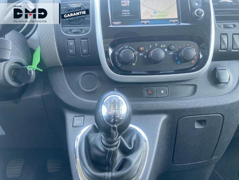 Renault Trafic Fg L2h1 1200 1.6 Dci 145ch Energy Grand Confort Euro6 - Visuel #8