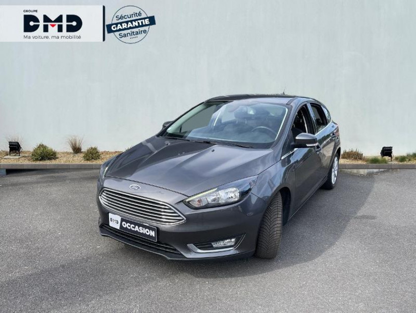 Ford Focus 1.5 Tdci 120ch Stop&start Titanium Powershift - Visuel #1