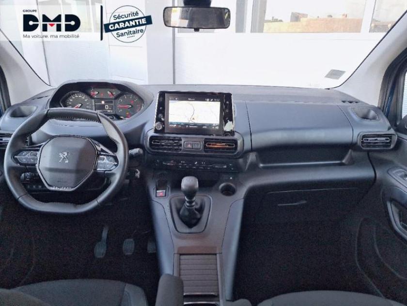 Peugeot Rifter Bluehdi 130ch S&s Standard Allure - Visuel #5