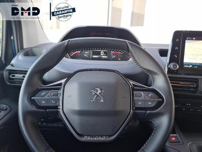 Peugeot Rifter Bluehdi 130ch S&s Standard Allure - Visuel #7