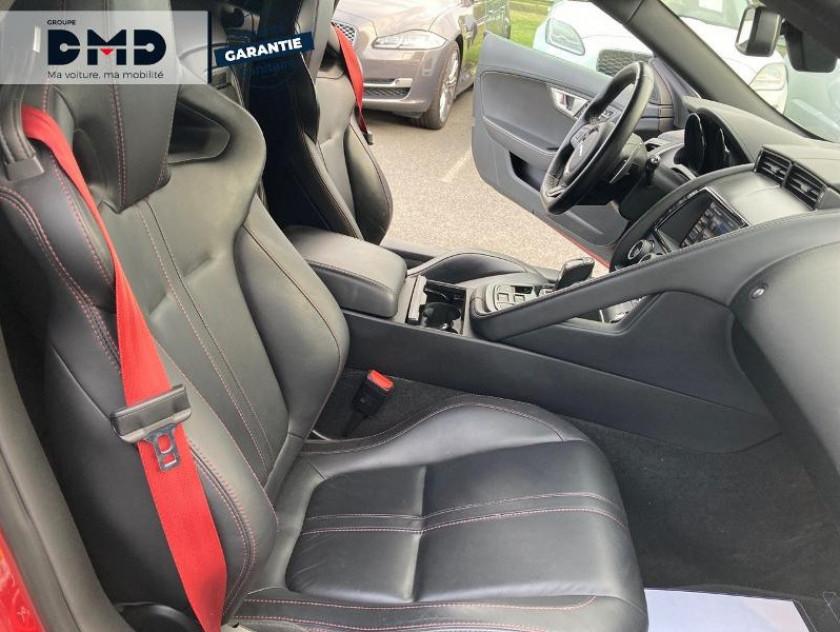 Jaguar F-type Cabriolet 5.0 V8 S Bva8 - Visuel #10