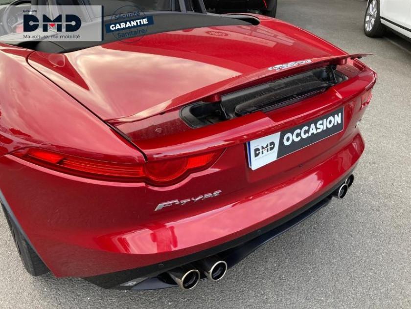 Jaguar F-type Cabriolet 5.0 V8 S Bva8 - Visuel #15