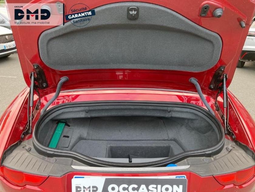 Jaguar F-type Cabriolet 5.0 V8 S Bva8 - Visuel #12