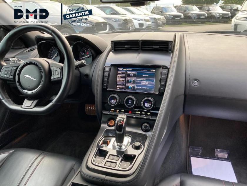 Jaguar F-type Cabriolet 5.0 V8 S Bva8 - Visuel #5