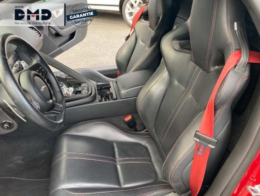 Jaguar F-type Cabriolet 5.0 V8 S Bva8 - Visuel #9