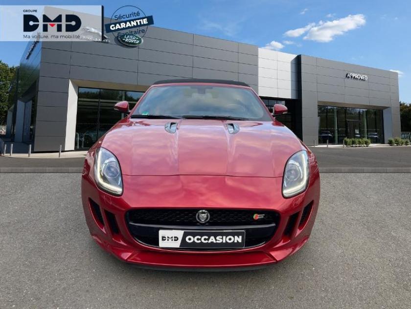 Jaguar F-type Cabriolet 5.0 V8 S Bva8 - Visuel #4