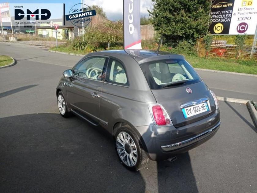 Fiat 500 1.2 8v 69ch Lounge - Visuel #3