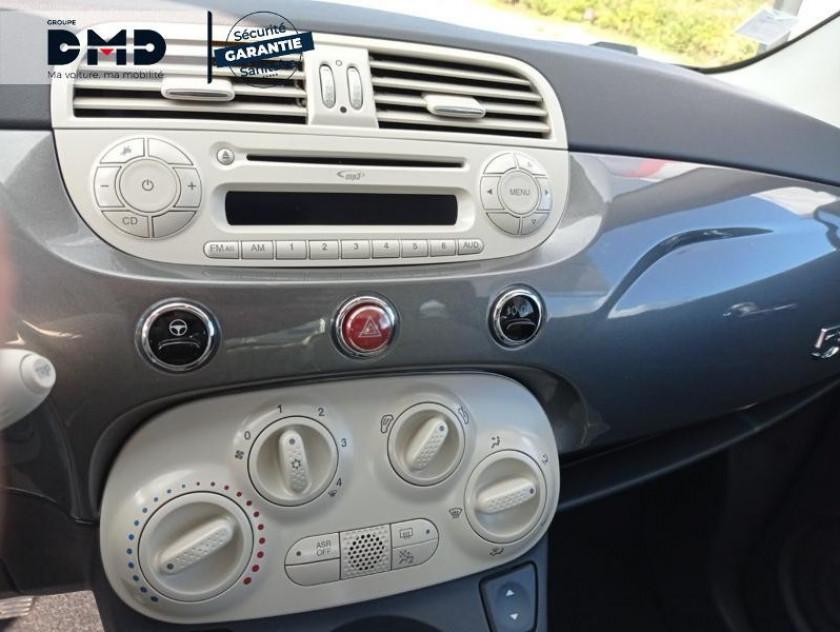 Fiat 500 1.2 8v 69ch Lounge - Visuel #6