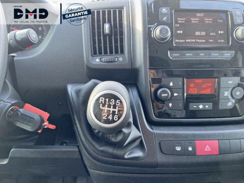 Fiat Ducato Fg Maxi 3.5 Maxi Lh2 2.3 Multijet 140ch Pack Pro Nav E6d - Visuel #8