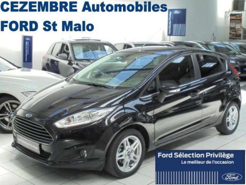 Ford Fiesta 1.0 Ecoboost 125ch Stop&start Titanium 5p - Visuel #17