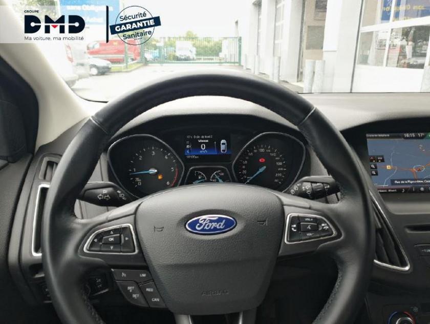 Ford Focus 1.6 Tdci 115ch Stop&start Titanium - Visuel #7