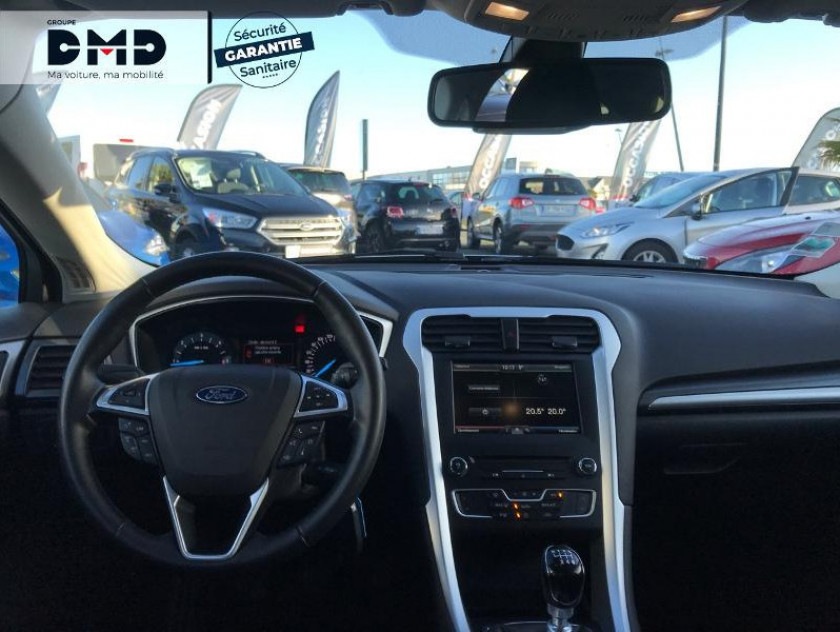 Ford Mondeo 2.0 Tdci 150ch Econetic Business Nav 5p - Visuel #5